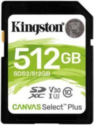 Kingston Canvas Select Plus SDXC 512 GB UHS-I