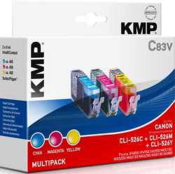 KMP C83V komp. recykl.náplň CLI-526 C /