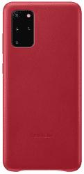 Samsung Leather Cover pro Samsung Galaxy S20+, červená