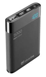 CellularLine FreePower Manta HD powerbanka 5000 mAh, černá