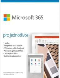 Microsoft 365 pro jednotlivce CZ (1 rok)