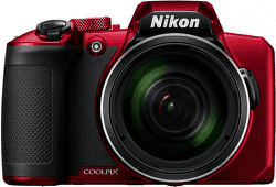 Nikon Coolpix B600 červený vystavený kus splnou zárukou