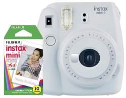 Fujifilm Instax Mini 9 bílá + 10ks film
