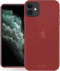 Fonex Gommy pouzdro pro Apple iPhone 11 červené