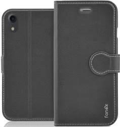 Fonex Identity flipové pouzdro pro Apple iPhone XR černé