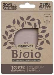 Forever Bioio ochranné pouzdro pro Apple AirPods růžové