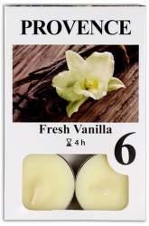 Provence Vanilka vonná svíčka 6ks