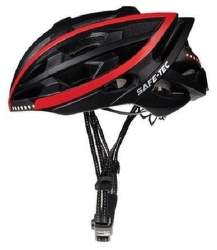 Safe-Tec TYR L chytrá helma černá