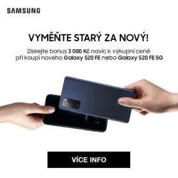 Vyměňte starý za nový - Galaxy S20 FE