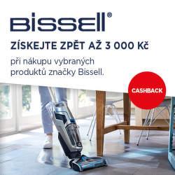 Cashback až 3 000 Kč na vybrané produkty Bissell