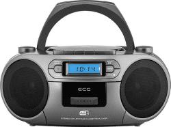ECG CDR 999 DAB šedý
