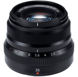 Fujifilm XF 35 mm f/2 R WR černý