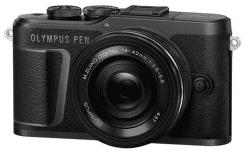 Olympus E-PL10 černý + 14-42 mm f/3,5-5,6 EZ-M1442EZ Pancake