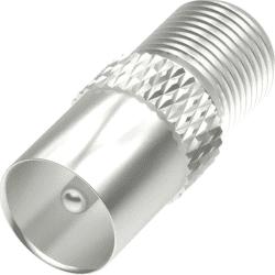 Hama 205223 SAT redukce F-zásuvka - koaxiální vidlice