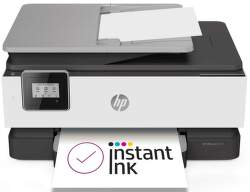HP OfficeJet 8013 1KR70B šedá s HP Instant Ink