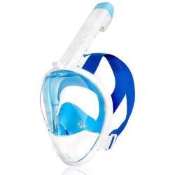 Spokey Karwi maska na šnorchlování modro-bílá S/M