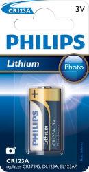 Philips Lithium CR123A 1ks