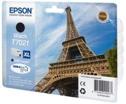 EPSON T7021 XL černý(eiffel) - atrament