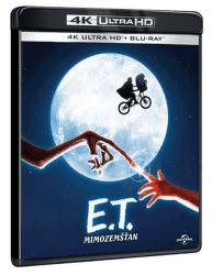 E.T. Mimozemšťan - 2xBD (Blu-ray + 4K UHD)