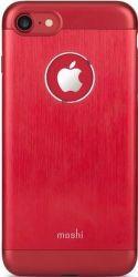 Moshi Armour pouzdro pro iPhone 7, červená