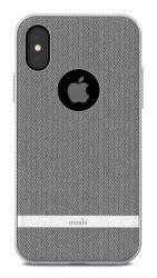 Moshi Vesta pouzdro pro iPhone X, šedá