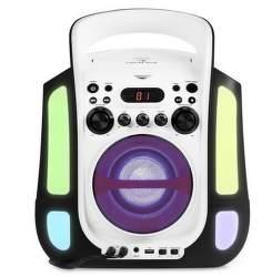 Auna Kara Illumina černý karaoke systém