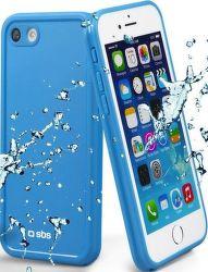 SBS voděodolné pouzdro pro iPhone 8/7, modrá