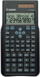CANON F-715 SG-BK EXP DBL, vědecká kalkulačka