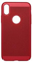 Mobilnet Sito pouzdro pro iPhone X, červená