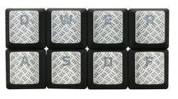 HyperX FPS & MOBA stříbrná