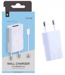 Aligator PLUS CA109 bílá + Lightning kabel, nabíječka