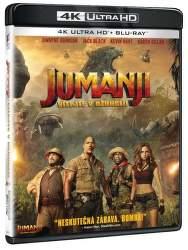 Jumanji: Vítejte v džungli - Blu-ray + 4K UHD film