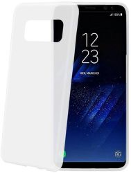 Celly Frost pouzdro pro Samsung Galaxy S8+, bílá