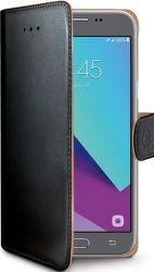 Celly Wally knížkové pouzdro pro Samsung Galaxy J3 2017, černá