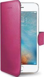 Celly Wally knížkové pouzdro pro iPhone 7/8, růžová