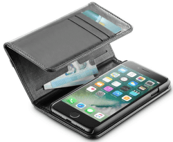 Cellular Line Wallet pouzdro pro iPhone 7/8, černá