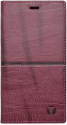 Mobilnet Luxury knížkové pouzdro pro iPhone X, červené