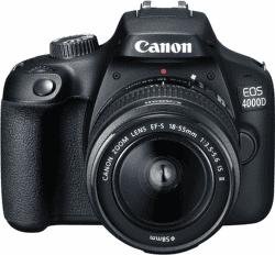 Canon 4000D černý + 18-55mm DC III + EF 75-300mm vystavený kus s plnou zárukou