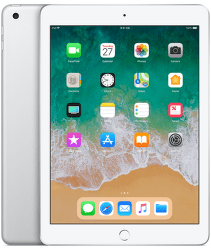 Apple iPad 2018 128GB WiFi stříbrný