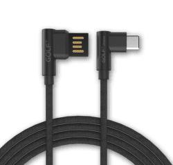Golf GC-48c USB-C kabel 2,4A 1m, černá