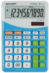 Sharp EL-M332BBL (modrá) - Stolní kalkulačka