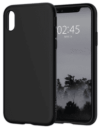 Spigen Liquid Crystal pouzdro pro Apple iPhone X, černé