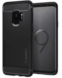 Spigen Rugged Armor pouzdro pro Samsung Galaxy S9, černé