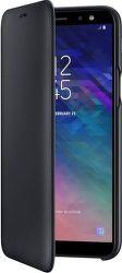 Samsung Wallet Cover pouzdro pro Samsung Galaxy A6 2018, černá