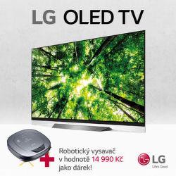 Robotický vysavač k LG OLED TV jako dárek