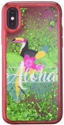Cellularline Stardust gelové pouzdro pro iPhone X, Aloha