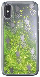 Cellularline Stardust gelové pouzdro pro iPhone X, Pineapple