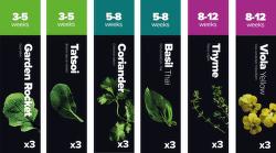 Plantui Starter Select Startovací balíček (18ks)