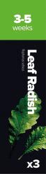 Plantui Leaf Radish Ředkev setá (3ks)