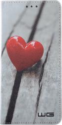 Winner knížkové pouzdro pro Huawei P20, Srdce